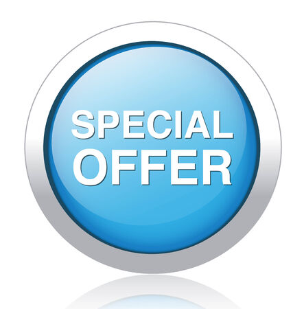 special offer icon  Illustration