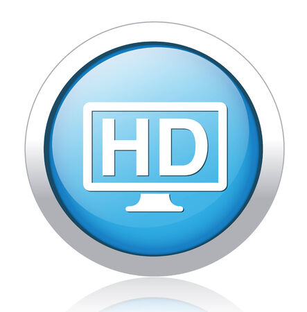 hd display icon Vector