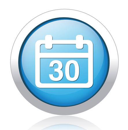 calendar icon Stock Vector - 26700069
