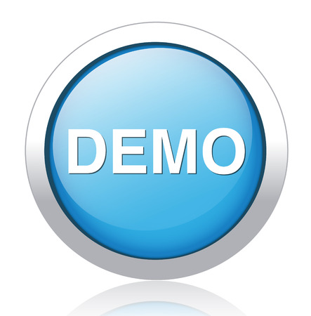 demo icon Vector