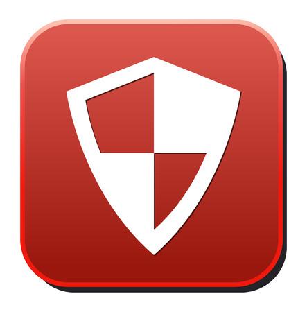 shield button Vector