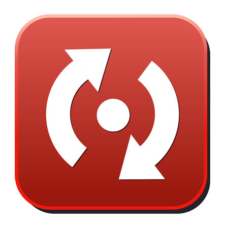 reload: icon of reload button Illustration