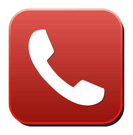 phone button: phone button Illustration
