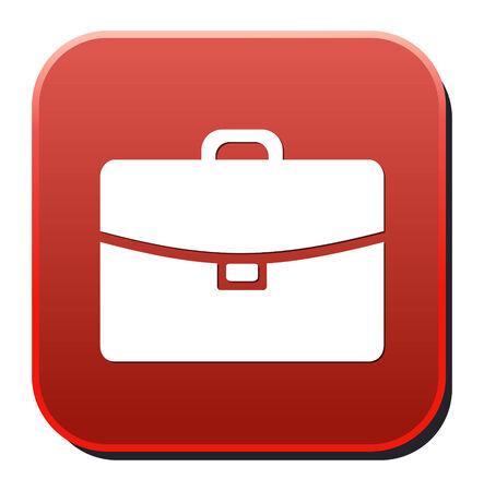 meridiano: Botton icono empresarial Vectores