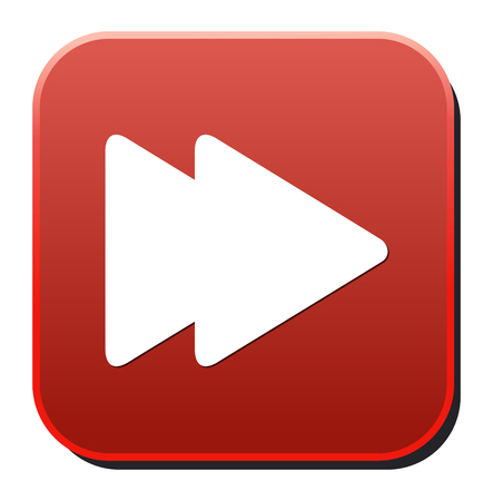 Media player button Illustration