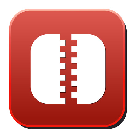 Zip file icon Stock Vector - 26990465