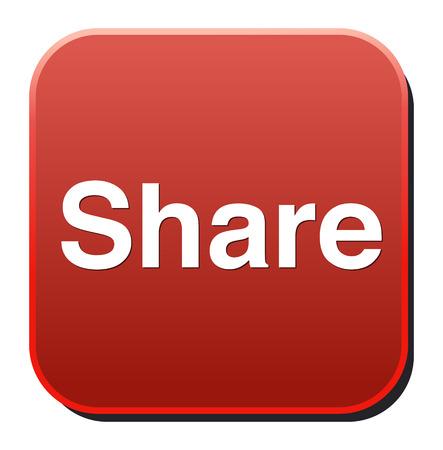 Share icon. Çizim