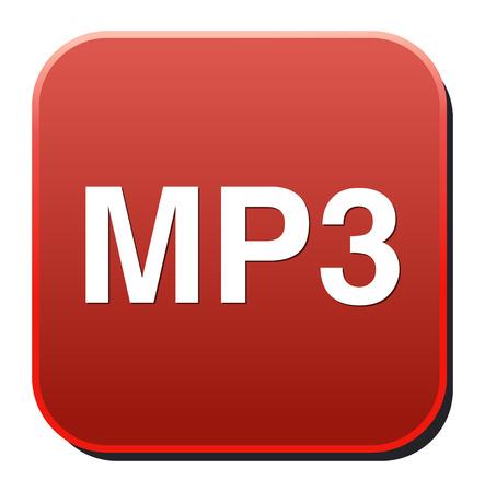 Mp3 téléchargement vecteur symbole Vecteurs