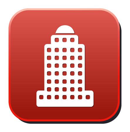 skyscraper icon Stock Vector - 26992030