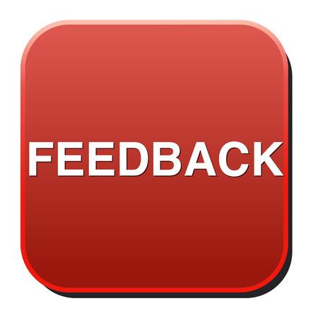 feedback button Vector