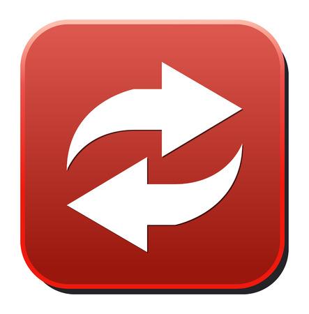 rewind icon: refresh  icon Illustration