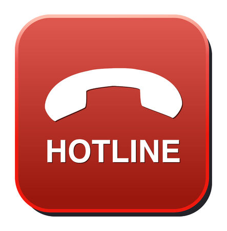 hotline button Vector