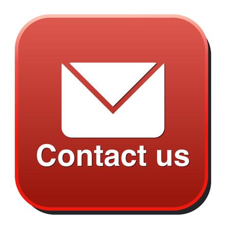 write us: Contact us icon Illustration