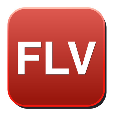 Flv Button Vector