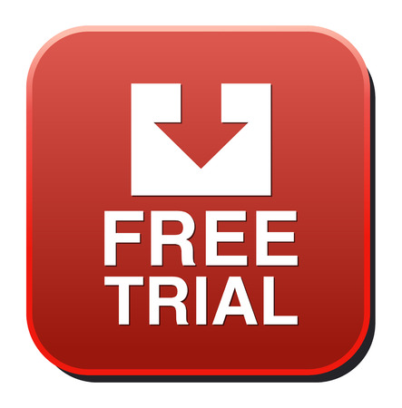 largess: Free trial button Illustration