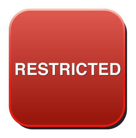 restricted: restricted button
