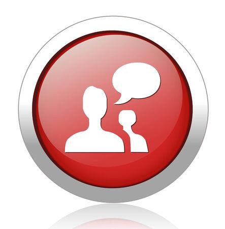 chatting icon Vector