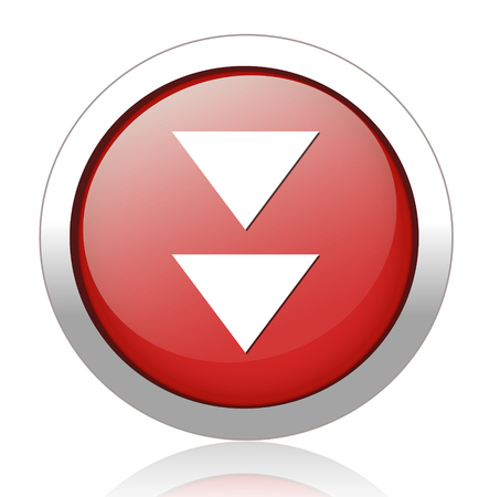 satined: Media player button Illustration