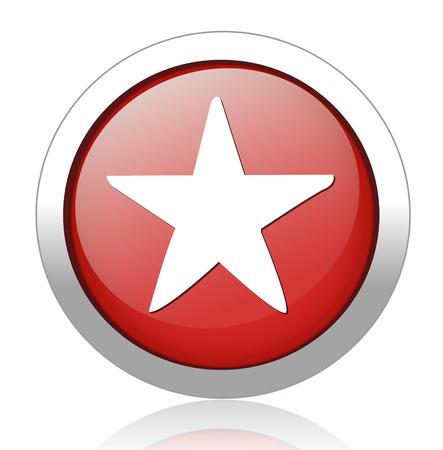 valuation: Star favorite web icon