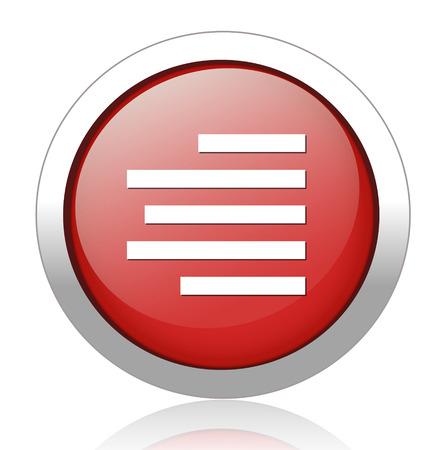 text button Vector