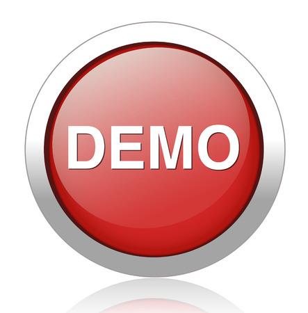 Demo icon Stock Vector - 27748549