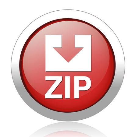 Zip file icon Stock Vector - 27748646