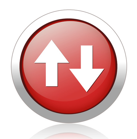 score under: up down button Illustration