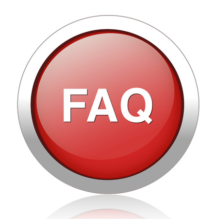 FAQ button Vector