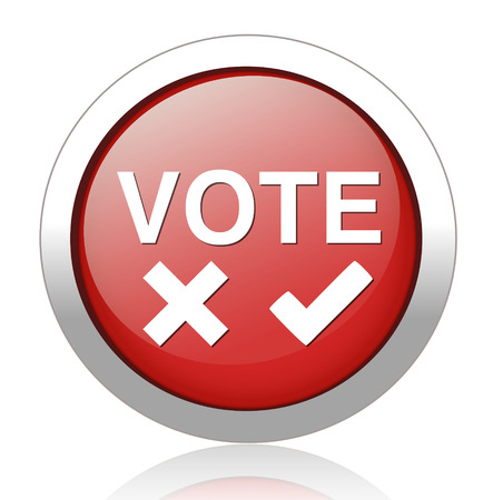 Validation sign, vote icon Vector