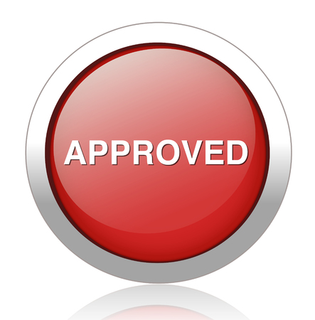 approve:  button approve