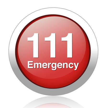emergency button Vector