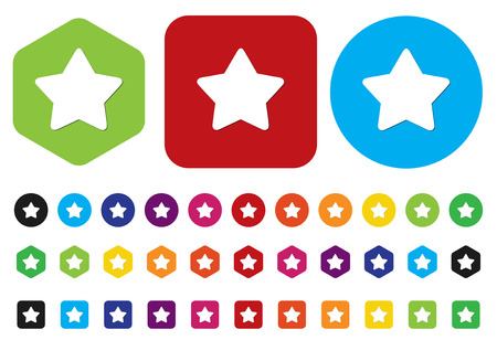 star button Illustration