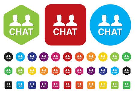 flysheet: Chat icon Illustration
