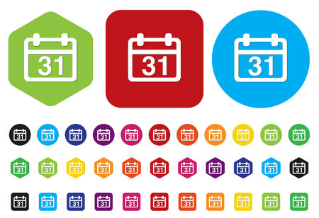 appointment book: calendar icon Illustration
