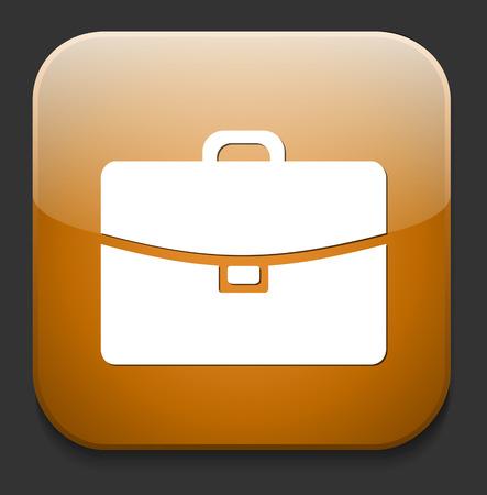 Botton icon business Vector