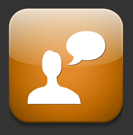 chatting icon Vector