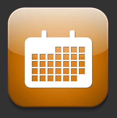 calendar  icon Stock Vector - 28578000