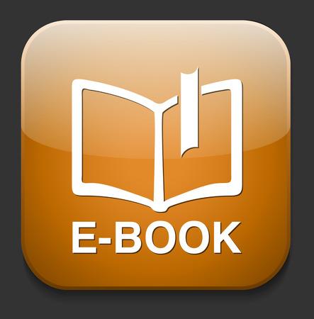 elettronic: Ebook icon button download
