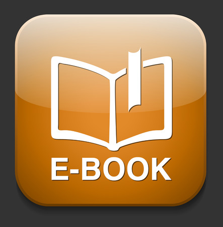 Ebook icon button download