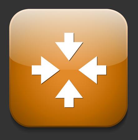 orientation marker: four arrows button