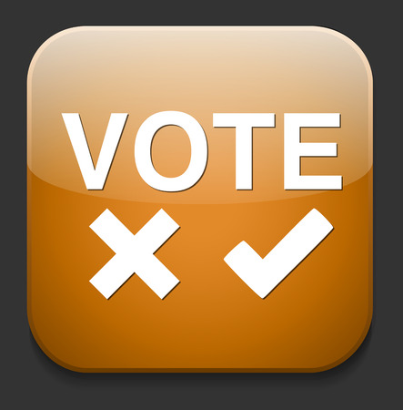 validation: Validation sign, vote icon