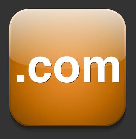 dot com  button