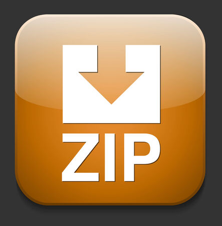 Zip file icon Stock Vector - 28679960