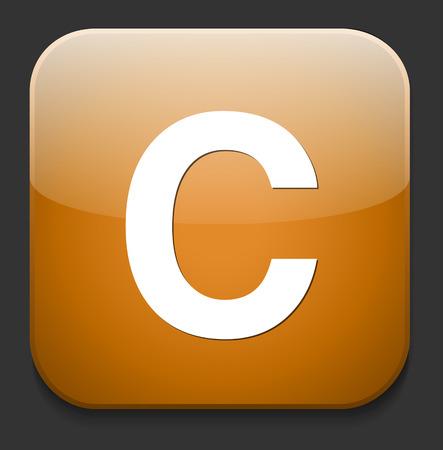 copyright icon Stock Vector - 28674123