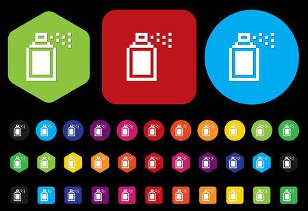 spray can: Spray can symbol Illustration