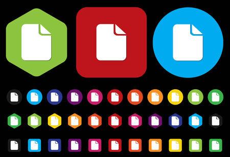 Document Icon Vector