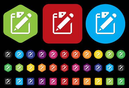 documentation: Document icon Illustration