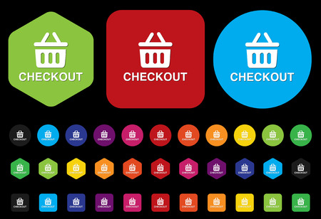 checkout: checkout button Illustration