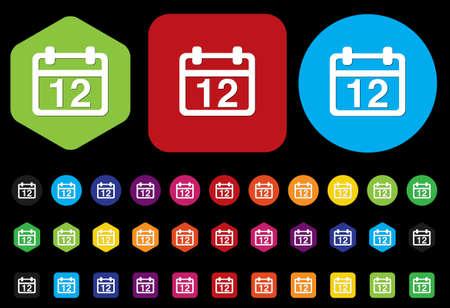 calendar icon Stock Vector - 28708680