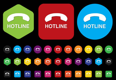 telephonist: hotline button